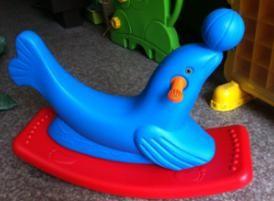 Bập bênh cá heo Mã DK 032-5