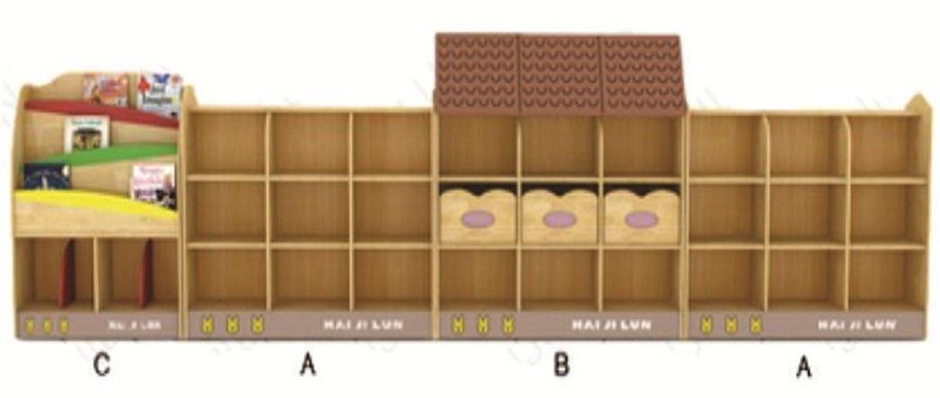 Gía đồ chơi 4 khối MÃ DK 070-9