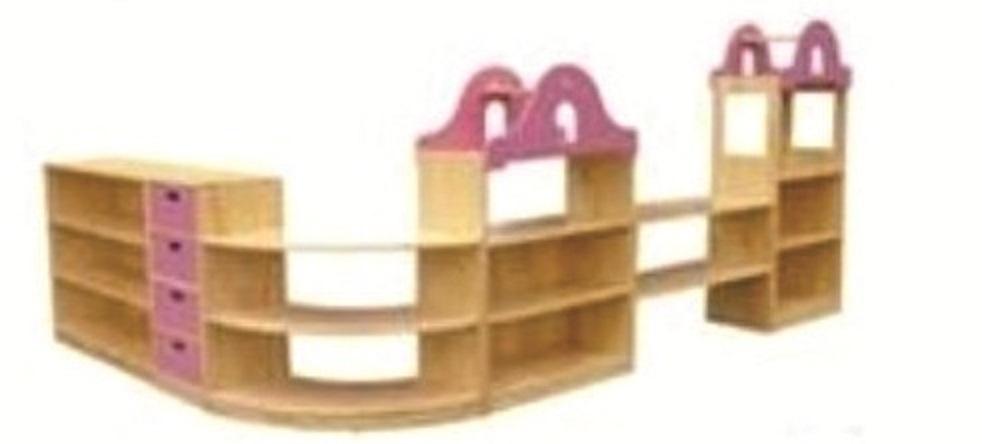 Gía đồ chơi 5 khối Mã DK 070-8