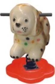 Nhún con chó đốm Mã DK 060-4