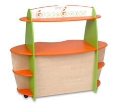 Tủ bán hàng, góc phân vai, quầy bar cho em bé Mã DK 070-2