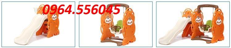 Cầu trượt xích đu  Mã DK 091-3