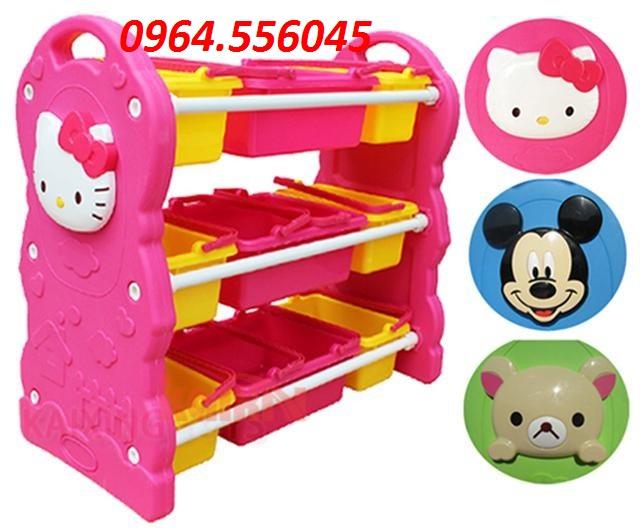 Tủ đồ chơi Hello Kitty Mã DK