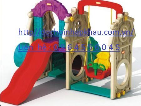 Cầu trượt xích đu liên hoàn Mã DK 091-8