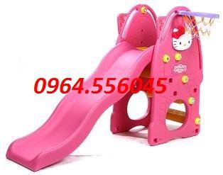 Cầu trượt Hello kitty DK 016-4