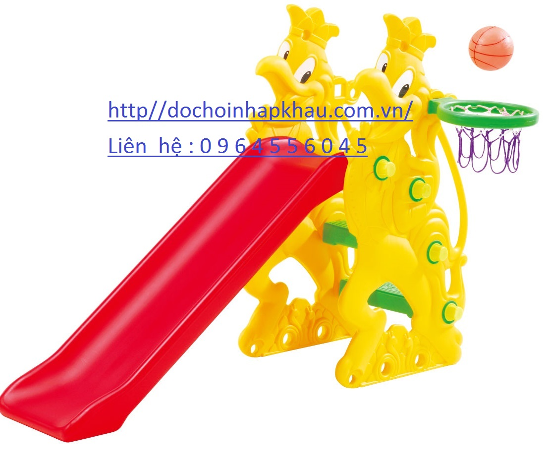 Cầu trượt con gà trống  Mã DK009-6