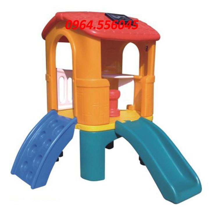 Nhà chơi trượt cho bé DK 004-1